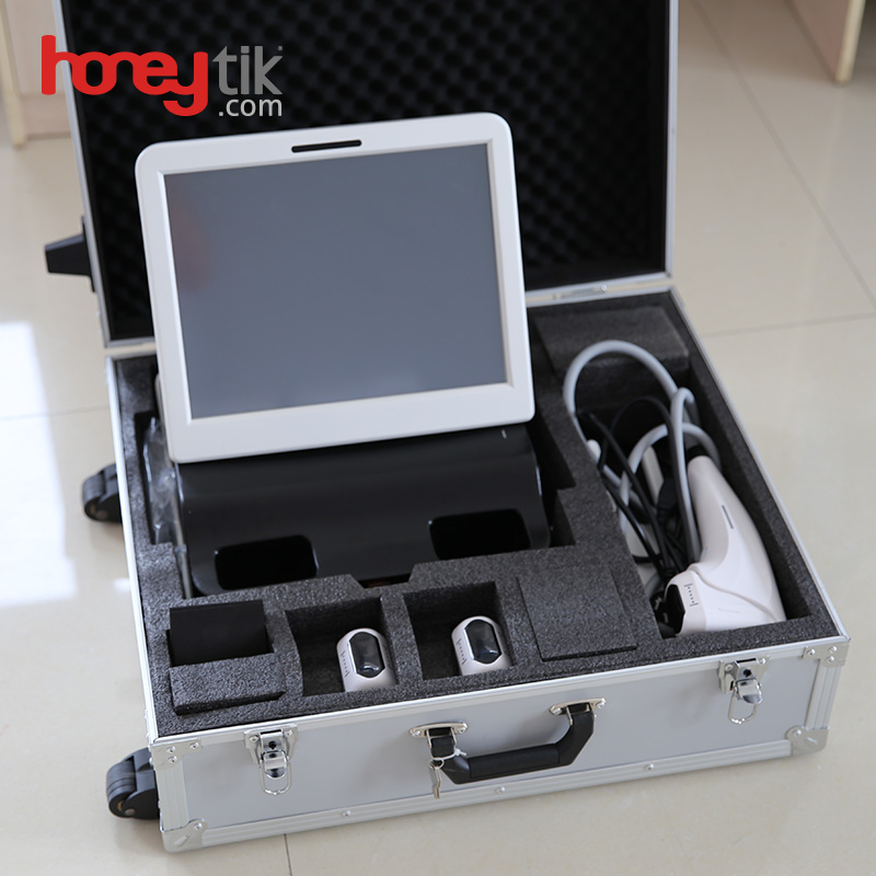 3D hifu facial machine for face lifting and weight loss FU4.5-4S