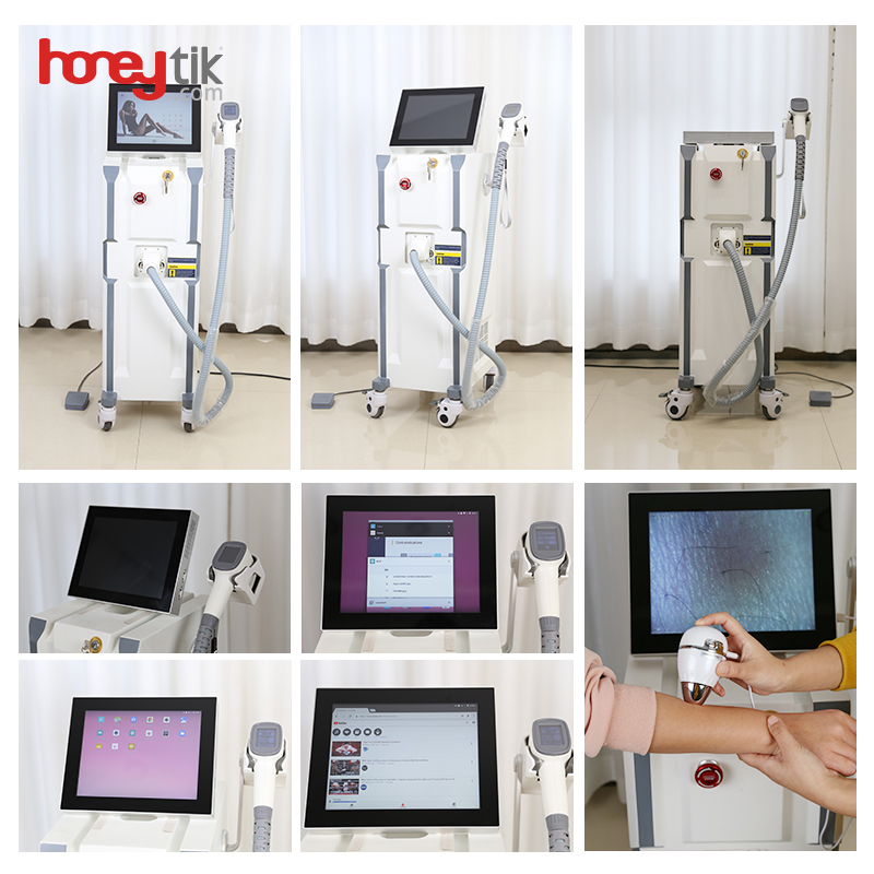 Diode Laser 808 Hair Removal Machine New Design Ce Approved Salon Use Smart Screen Two Operating Modes