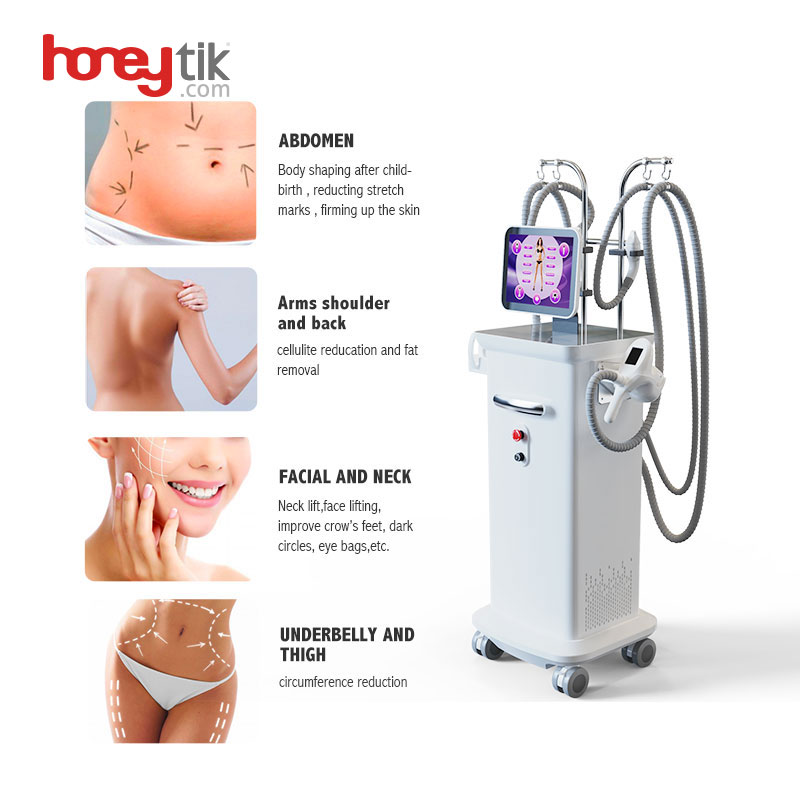 Velashape 3 Therapy Vacuum Cavitation Rf Equipment Hot Salon Use Vertical Fat Burning Cellulite Reduction