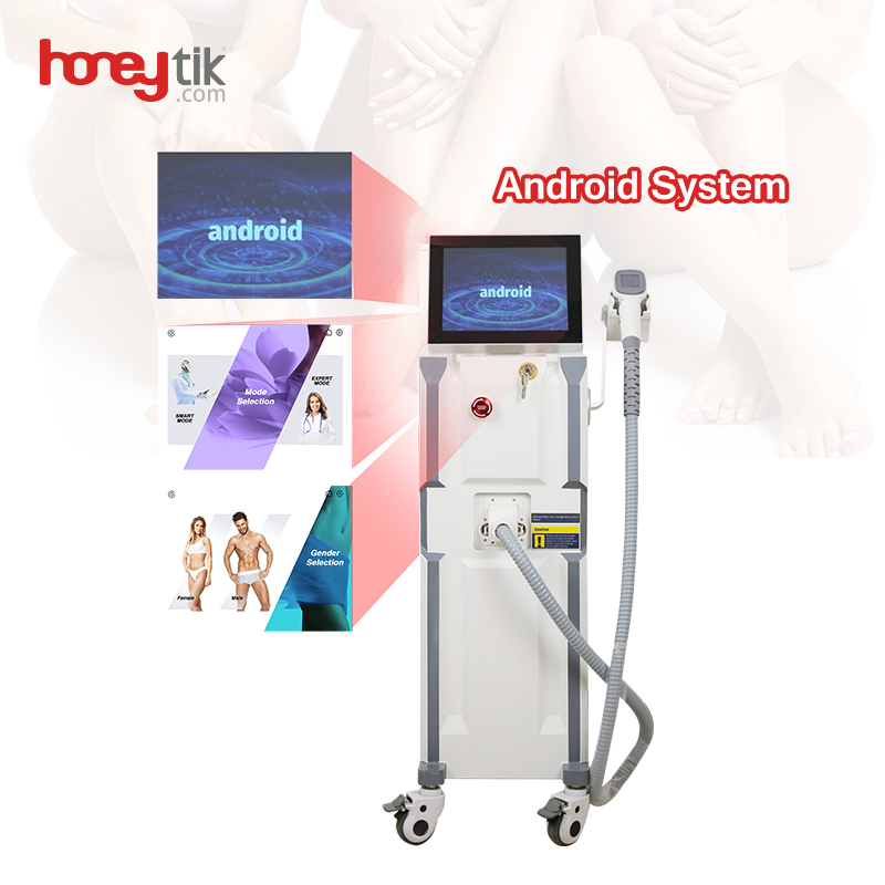 Diode Laser 808nm Hair Removal Beauty Equipment Hot Product Intelligent Salon Use Skin Rejuvenation for Sale